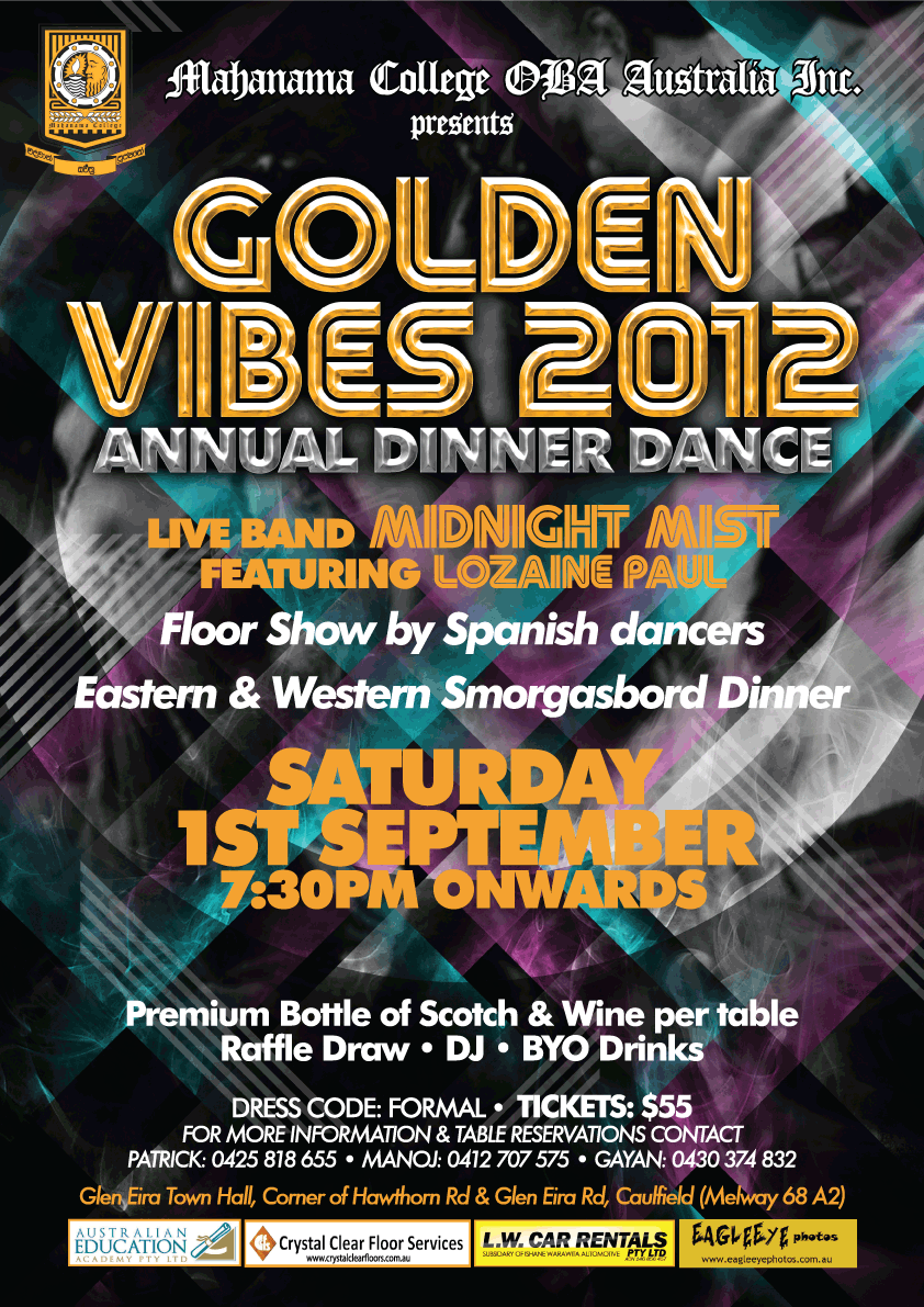 Golden Vibes 2012 Banner